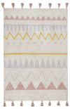 Lorena Canals Aztec Natural Washable Rug - Vintage Nude