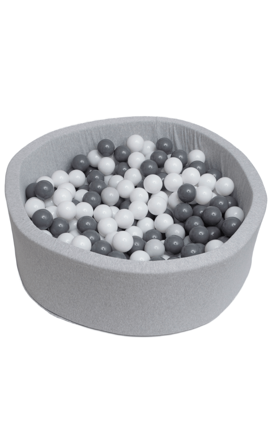 Mini Be Ball Pit - Grey/White In Grey Pit