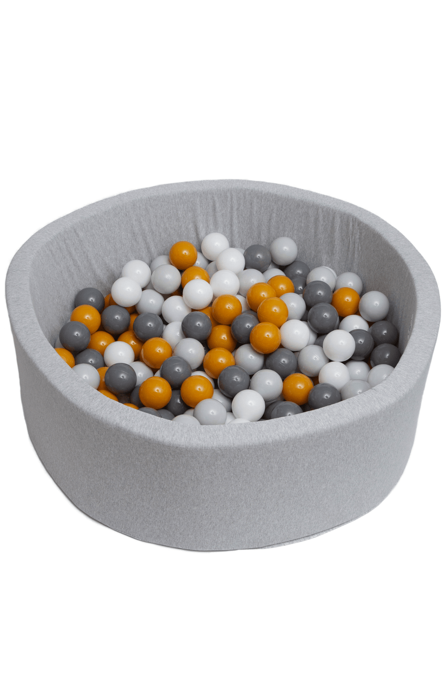 Mini Be Ball Pit - Mustard/Grey In Grey Pit