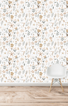 Munks + Me Millie Floral Garden Wallpaper