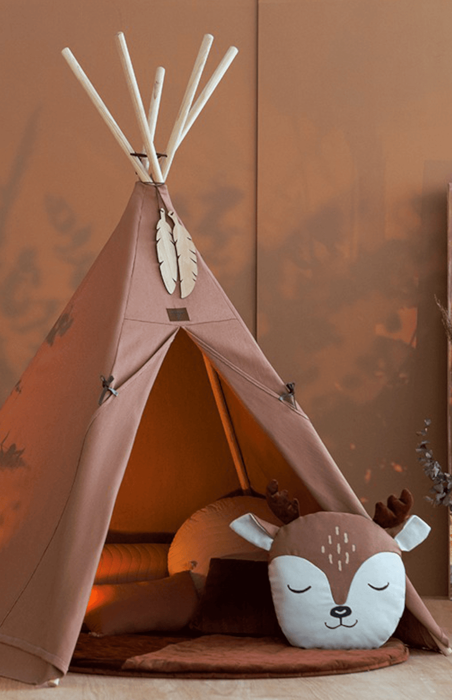 Nobodinoz Nevada Teepee - Sienna Brown