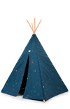 Nobodinoz Pheonix Teepee - Gold Stella/Night Blue