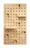 Pegboard with Shelves and Pegs - Birch Plywood
