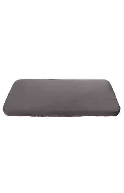 Sebra Jersey Fitted Cot Sheet - Grey