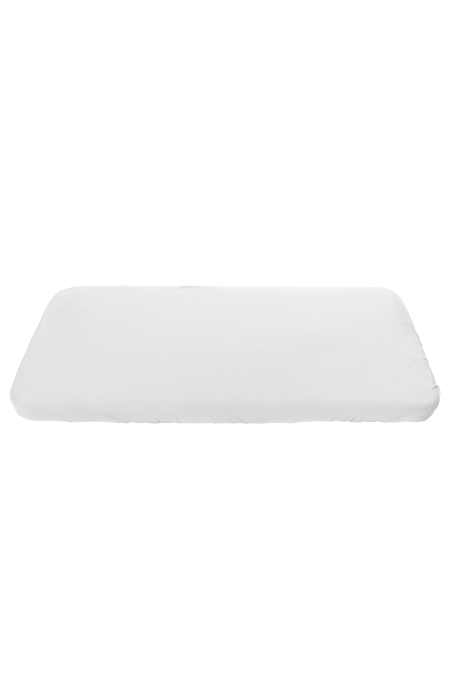 Sebra Jersey Fitted Cot Sheet - White
