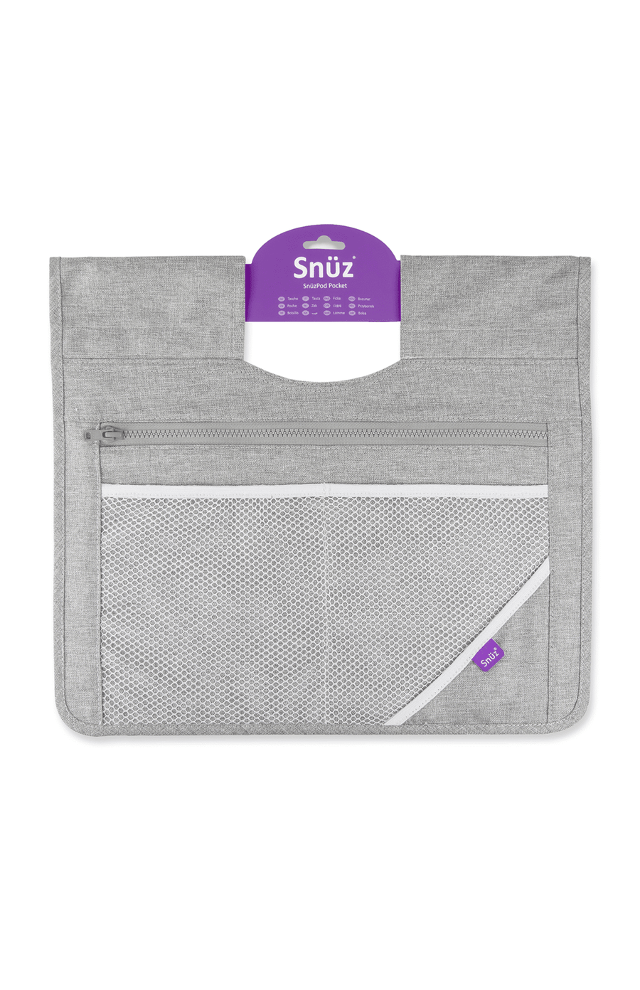 Snüzpod Storage Pocket - Dusk Grey