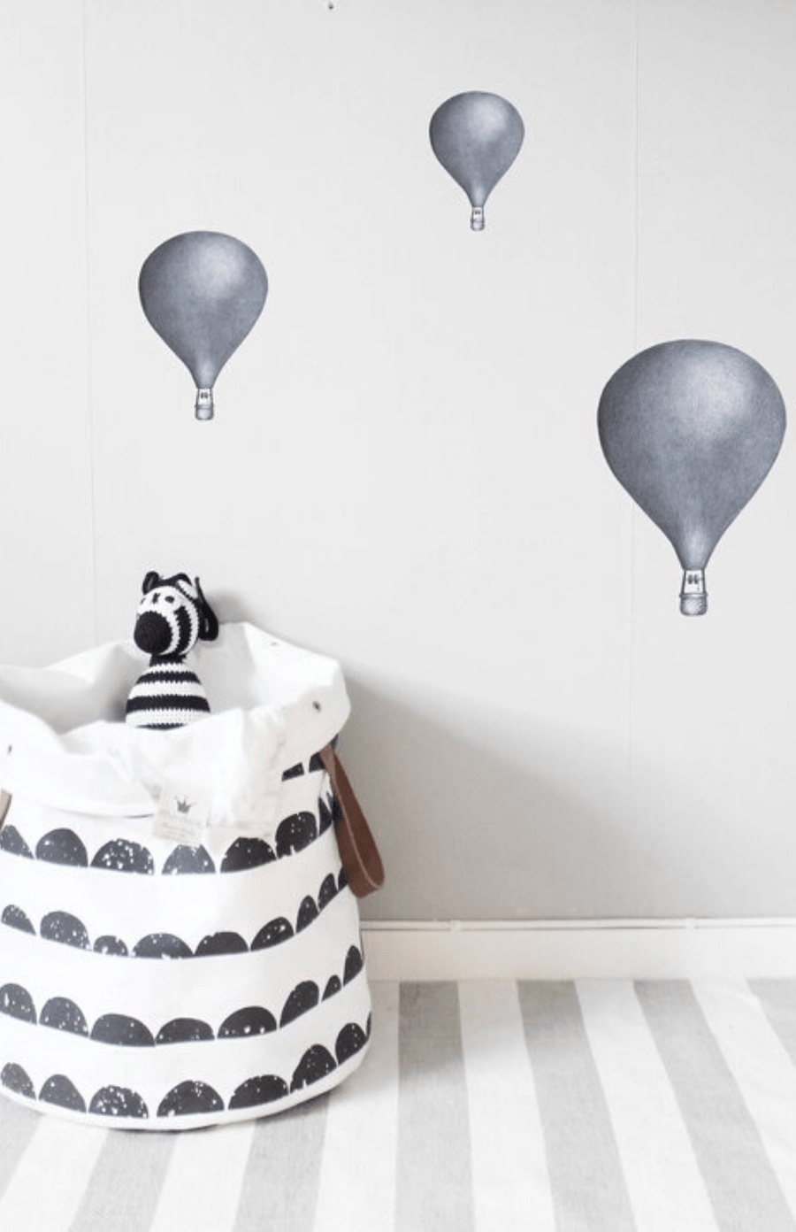 Stickstay Balloons Wall Stickers - Dark Blue