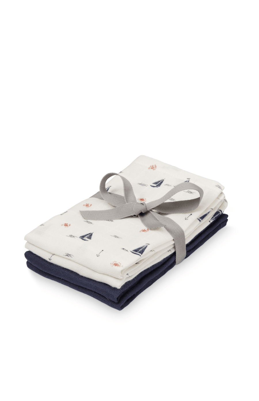 Cam Cam Copenhagen Wash Cloth 4 Pack - Sailboats