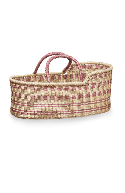 Cam Cam Copenhagen Dolls Moses Baskets - Berry