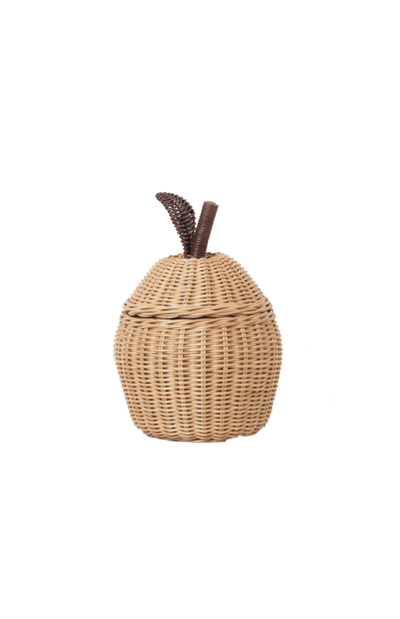 ferm LIVING Small Apple Braided Storage Basket