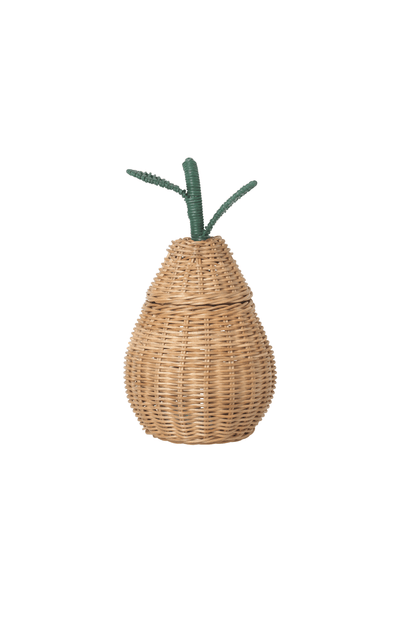 ferm LIVING Small Pear Braided Storage Basket
