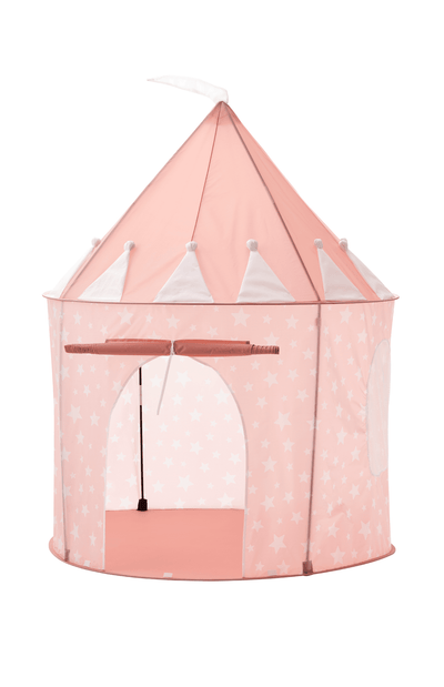 Kids Concept Play Tent - Pink Stars