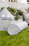 Kids Concept Play Tent - Grey Stars