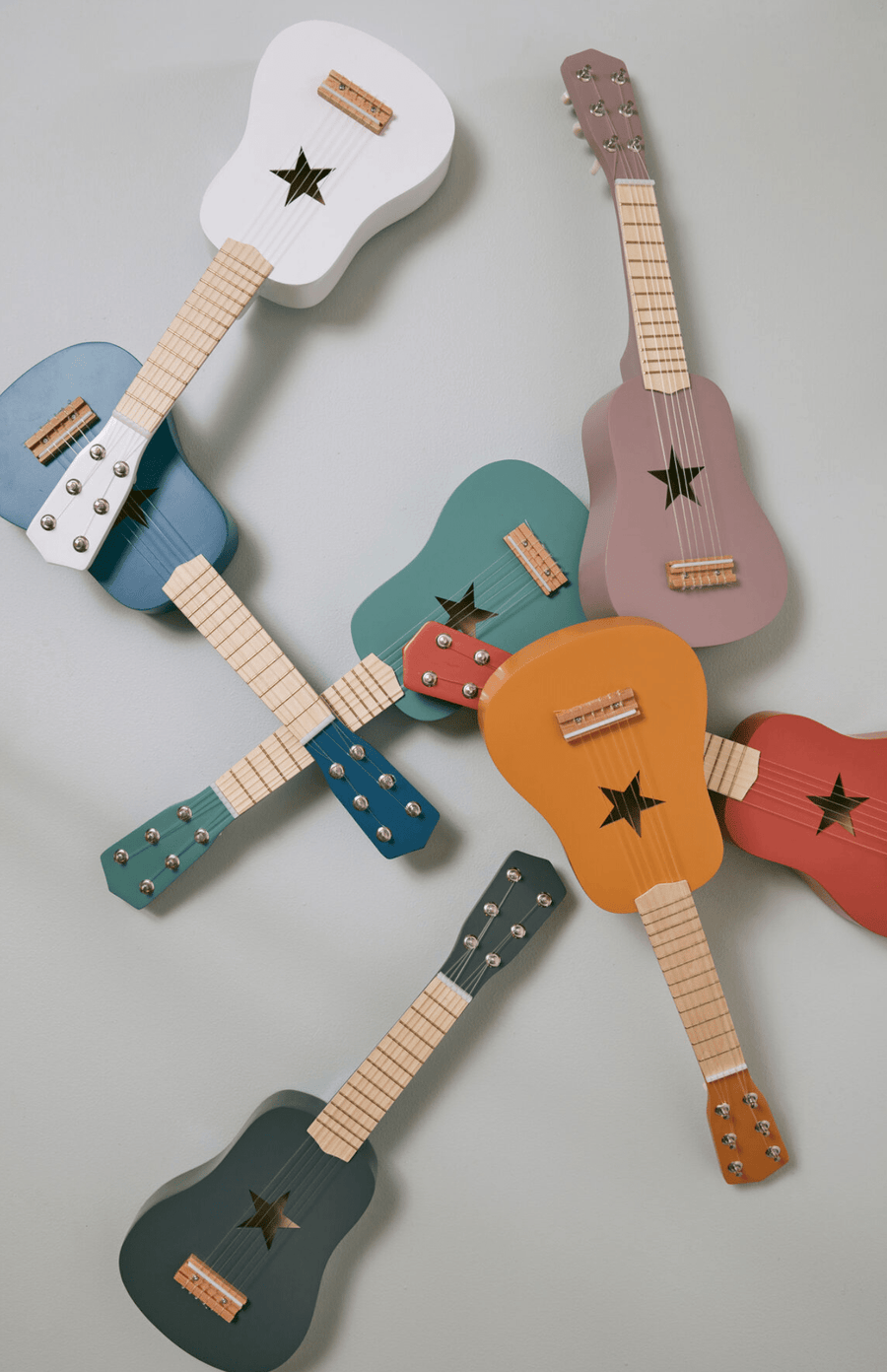Kids Concept Toy Guitar - Blue