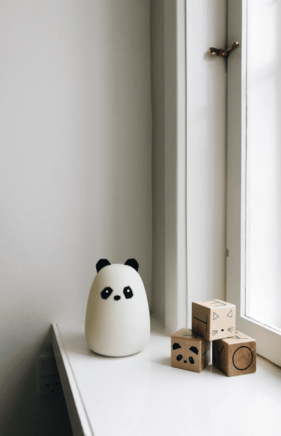 Liewood Winston Night Light Panda - Cream