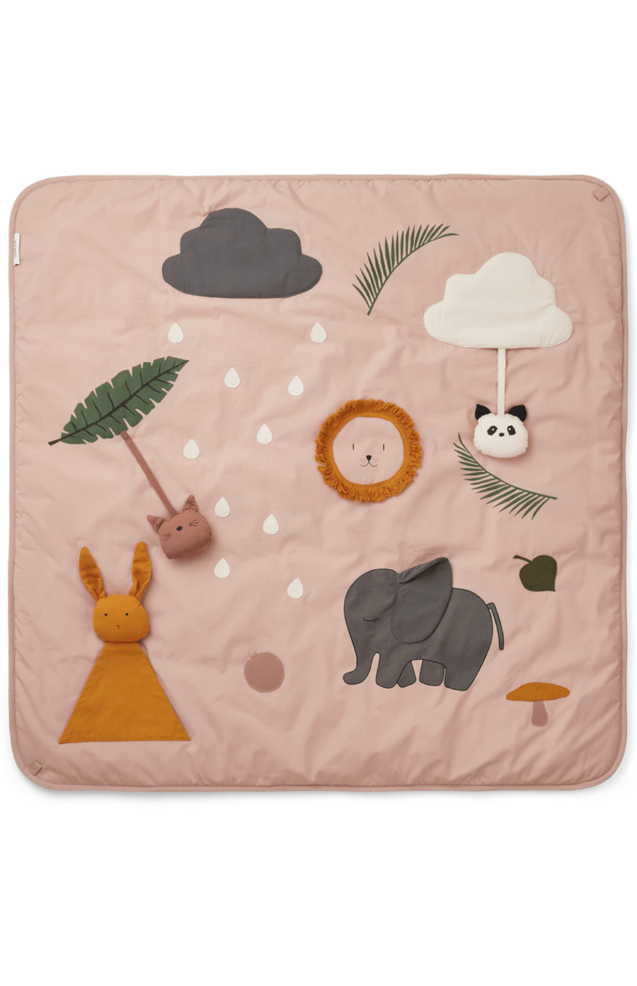 Liewood Glenn Sensory Activity Playmat - Rose