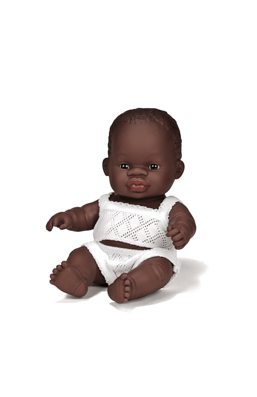 Miniland Baby Doll 21cm Boy - Black