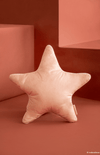 Nobodinoz Aristote Star Velvet Cushion - Bloom Pink