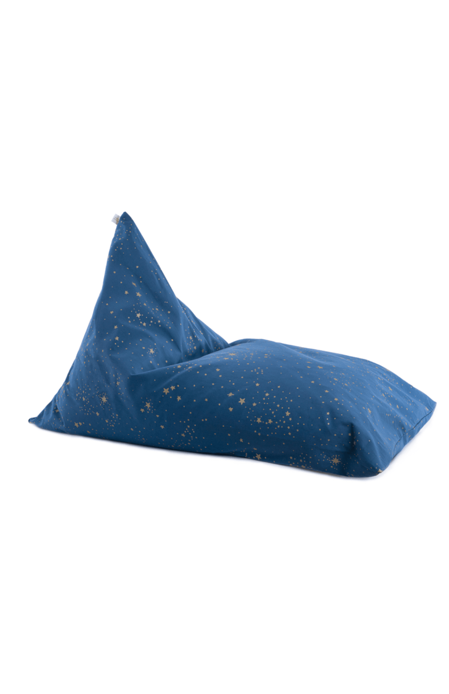 Nobodinoz Essaouria Bean Bag - Gold Stella/Night Blue