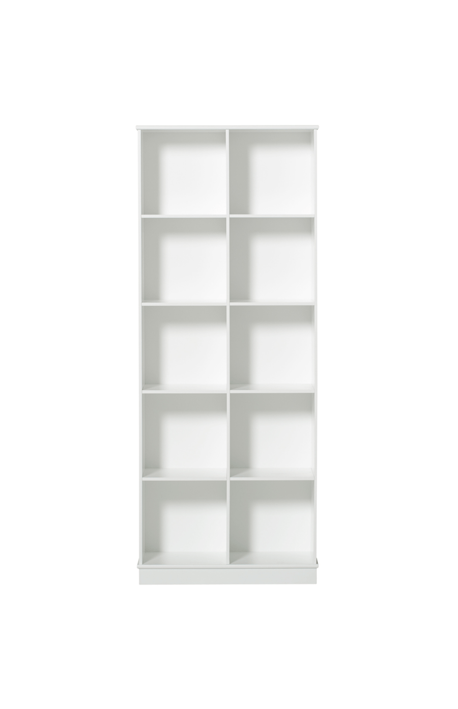 Oliver Furniture Floor Standing Shelving Unit - 2 x 5 Vertical