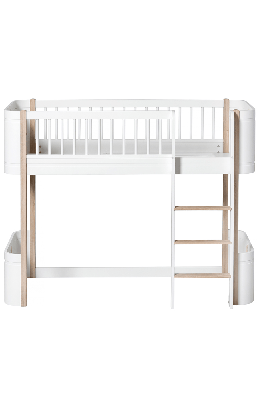 Oliver Furniture Mini+ Low Loft Bed