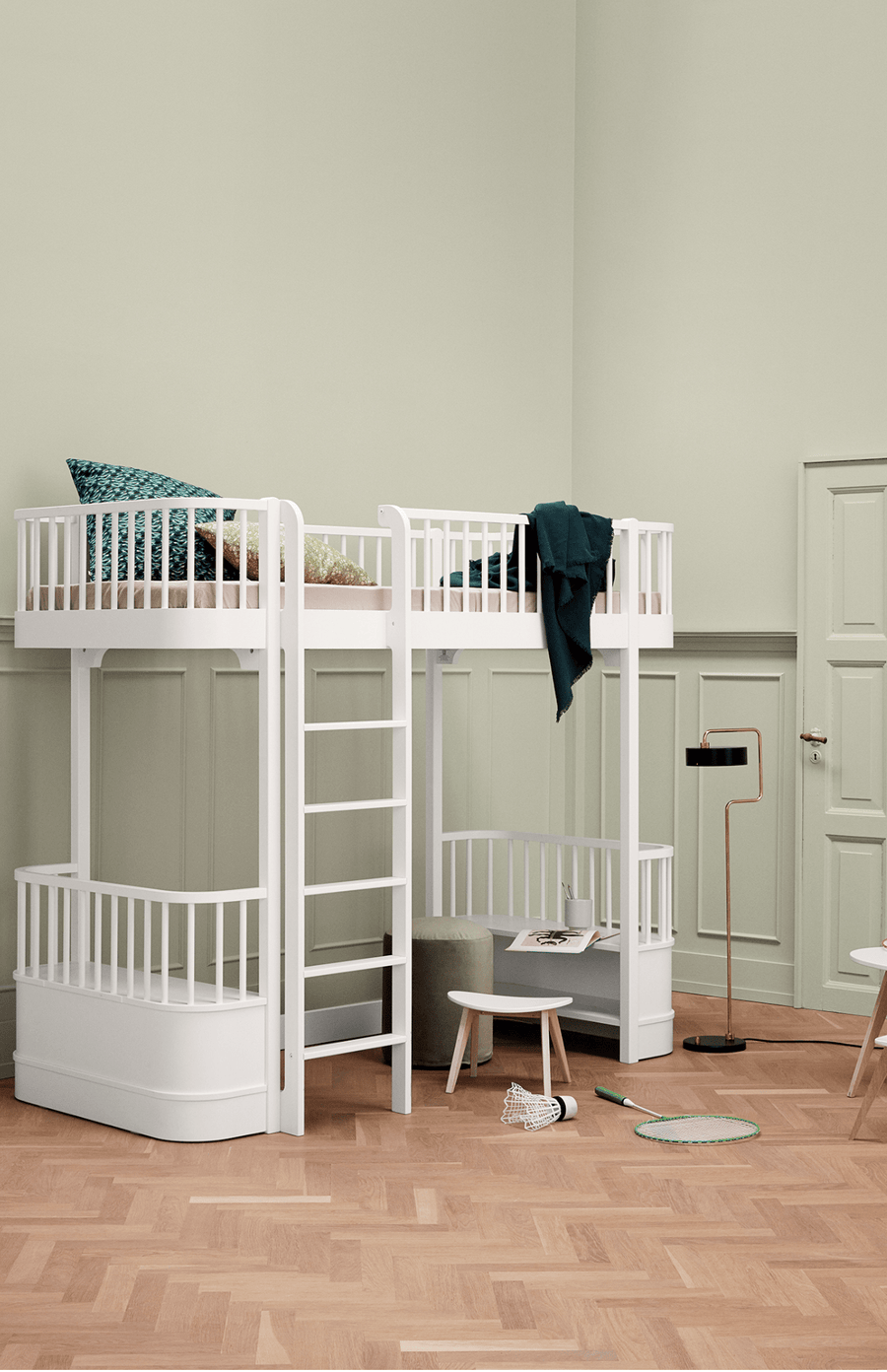 Oliver Furniture Wood Loft Bed