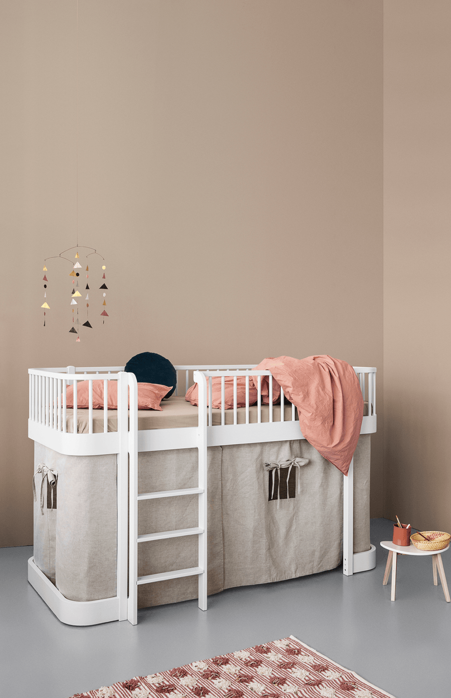 Oliver Furniture Wood Low Loft Bed