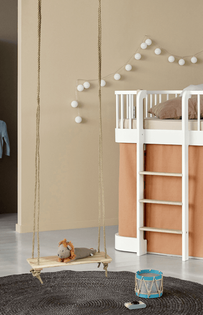Oliver Furniture Curtain for Wood Low Loft Bed