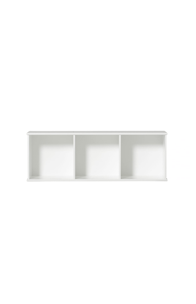 Oliver Furniture Wall mounted Shelving Unit - 3 x 1 Horizontal