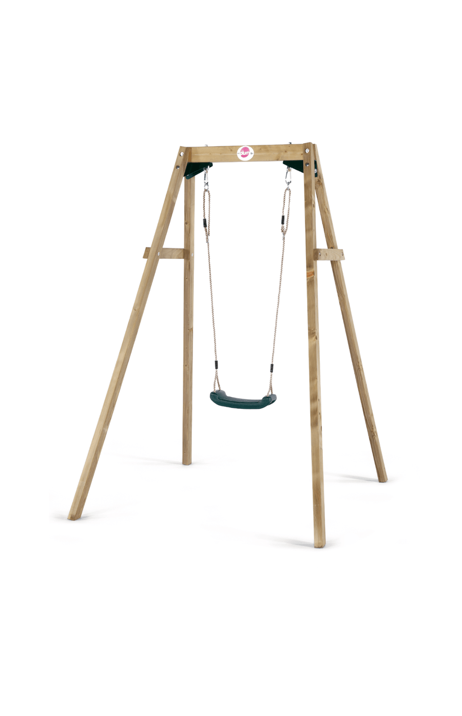 Plum® Wooden Single Swing Set