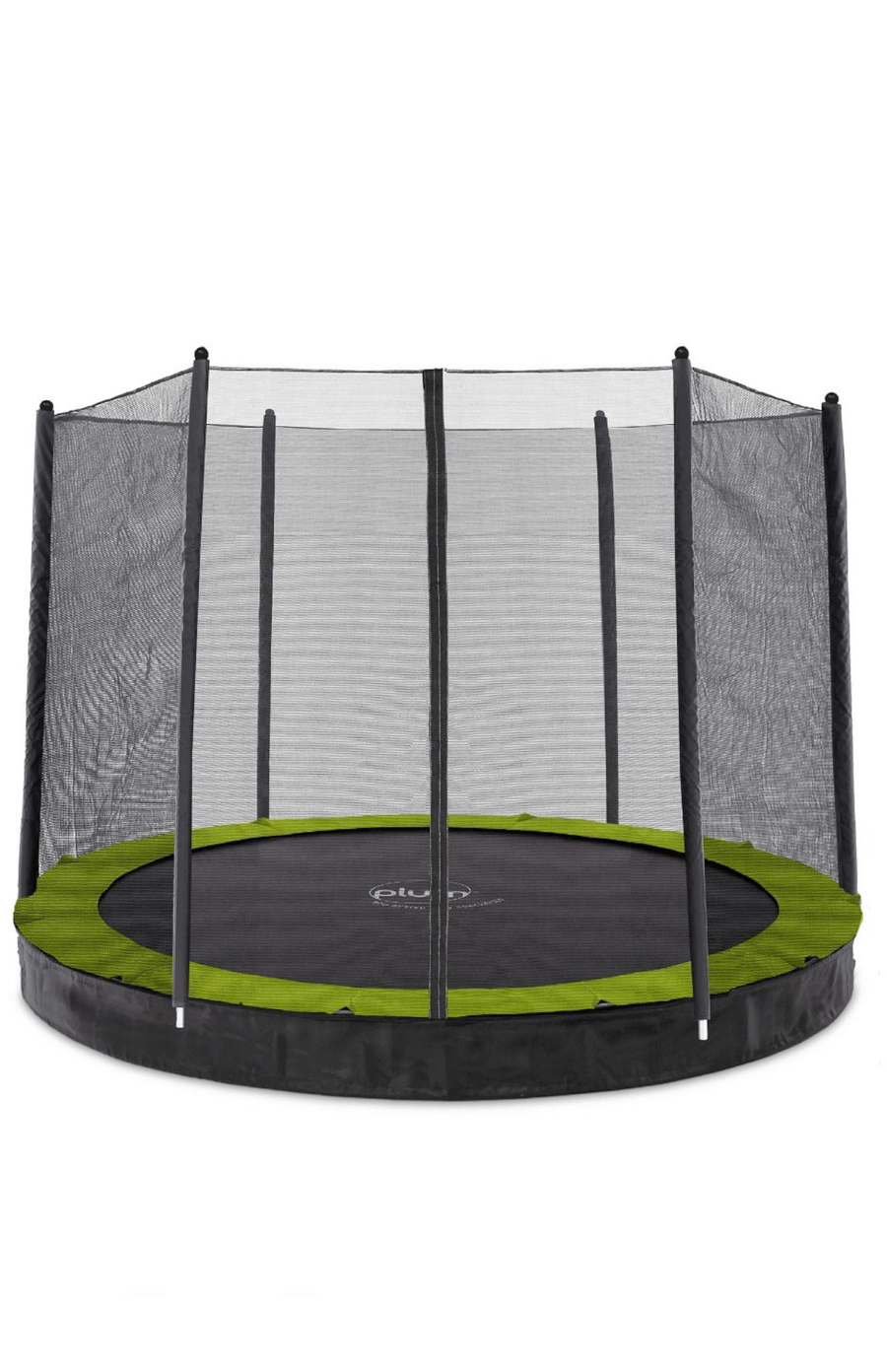 Plum® 10ft Circular In Ground Trampoline with Enclosure