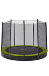 Plum® 12ft Circular In Ground Trampoline with Enclosure