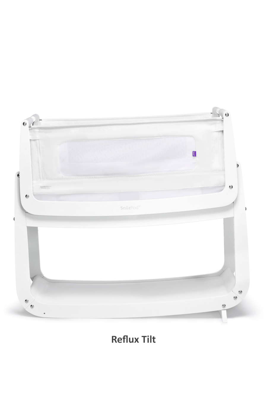 SnuzPod4 Bedside Crib 3 in 1 - White