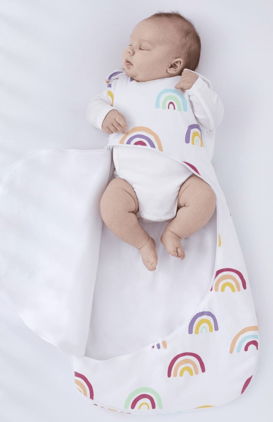 SnüzPouch 1.0 Tog Sleeping Bag - Rainbow