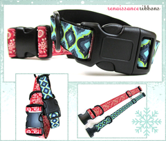 Make your pet a boutique-style dog collar and leash-Fun and easy-by Sew4Home