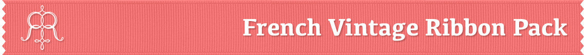 French Vintage Ribbon Pack