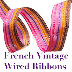 French Wired Ribbons