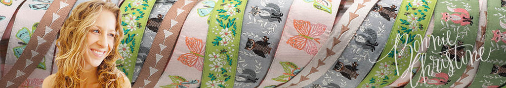 Wholesale ribbons by Bonnie Christine
