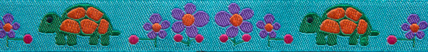 "Turquoise Tortoise 5/8"" - Folk Tails by Sue Spargo"