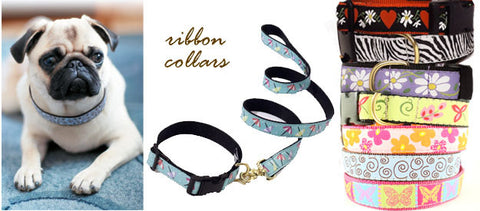 Dog Collar Ribbons For Sale