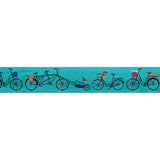 Bicycles on Blue