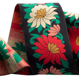 NEW & PRE ORDER! Wide Flowers on Black