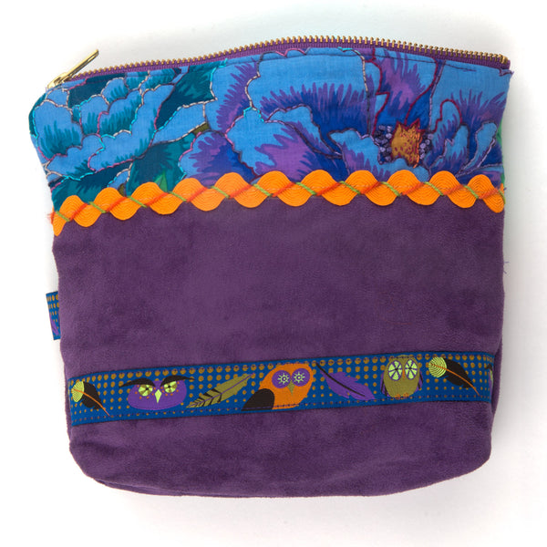 Zecca Zippered Pouch