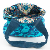 Blue Brocade Amy Butler Bag