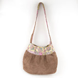Brown Tula Pink shoulder bag