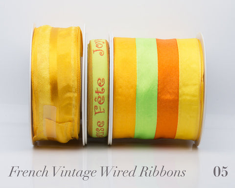 French Wired Ribbon Bundle #05