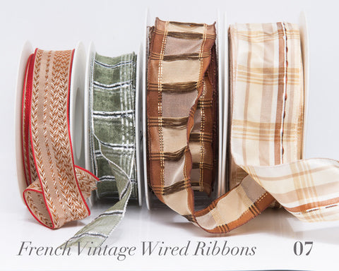 French Wired Ribbon Bundle #07