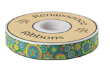 Paperweight in green and gold by Kaffe Fassett