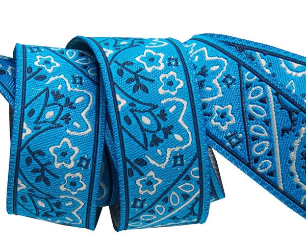 Bandana on Blue
