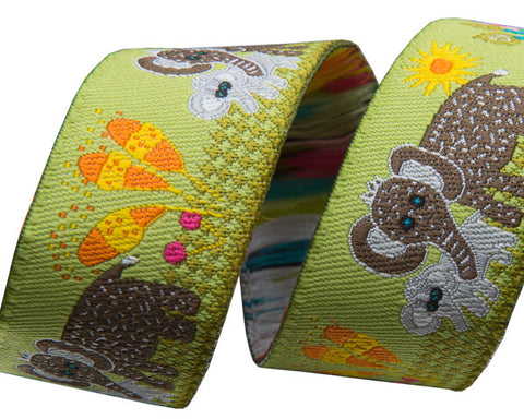 "Elephant Mama and Baby 7/8"" - Folk Tails by Sue Spargo"